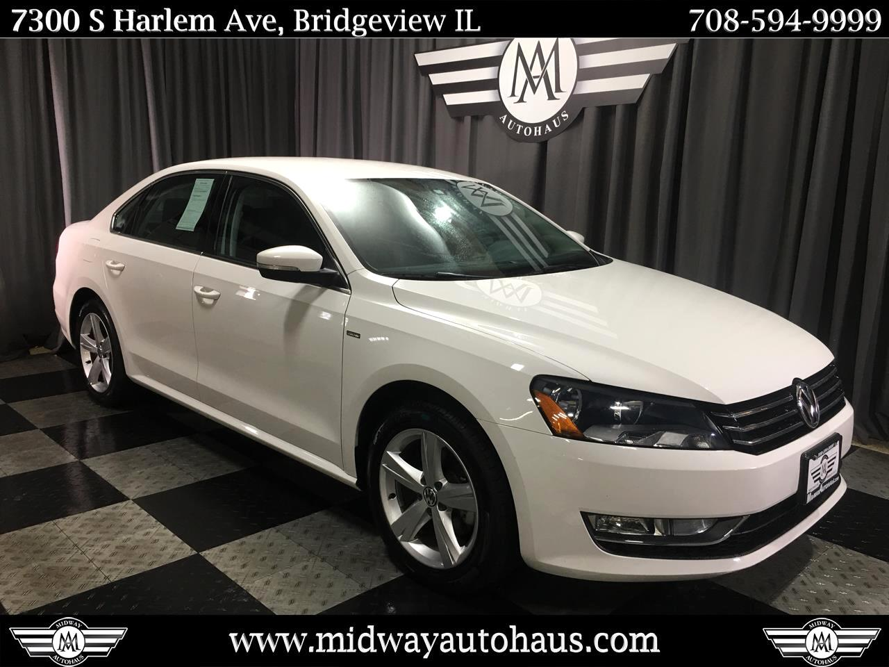 Pre-Owned 2015 Volkswagen Passat 4dr Sdn 1.8T Auto Limited Edition PZEV