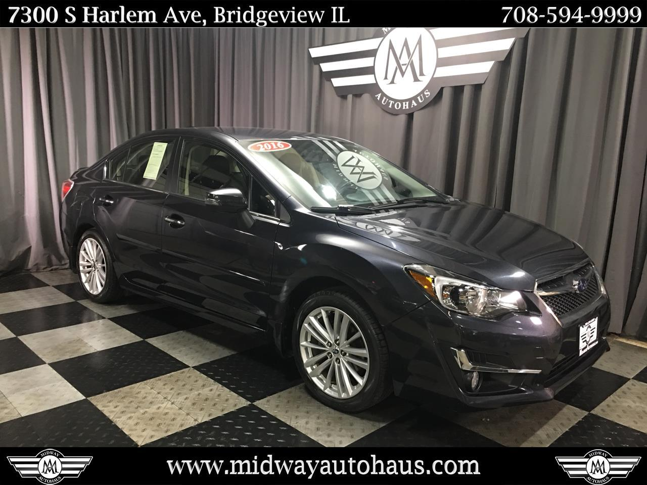 Pre-Owned 2016 Subaru Impreza Sedan 4dr CVT 2.0i Limited