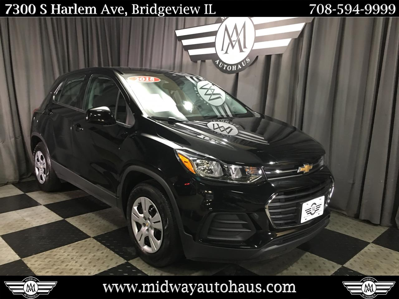 Pre-Owned 2018 Chevrolet Trax FWD 4dr LS