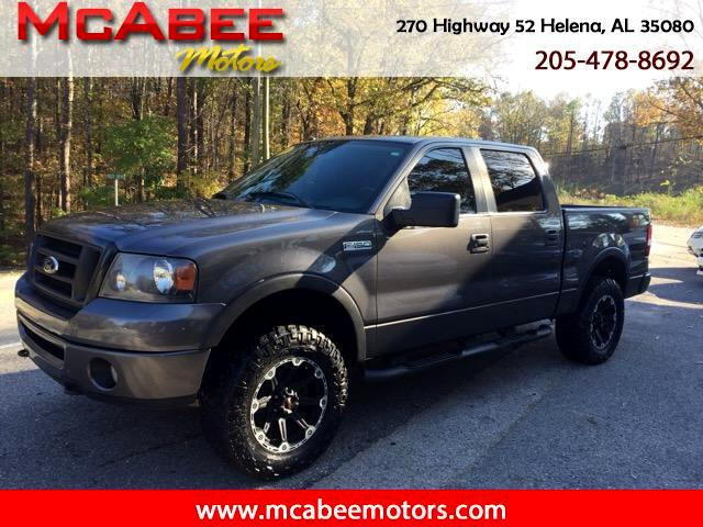 "2008 Ford F-150 SuperCrew 139"" FX4 4WD"