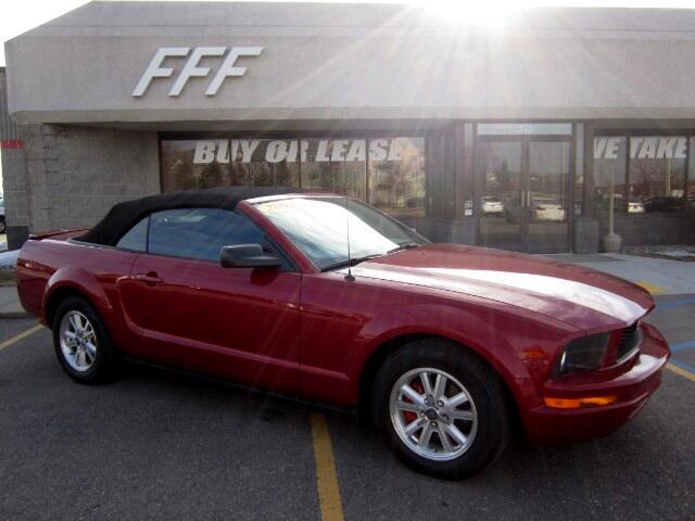 2008 Ford Mustang V6 Premium Convertible