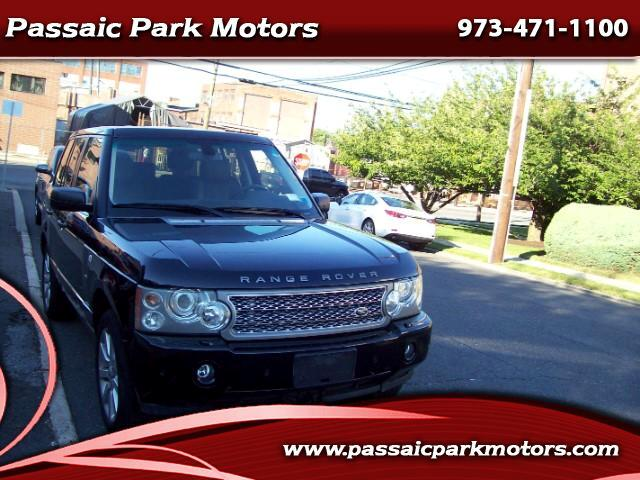 2008 Land Rover Range Rover Supercharged