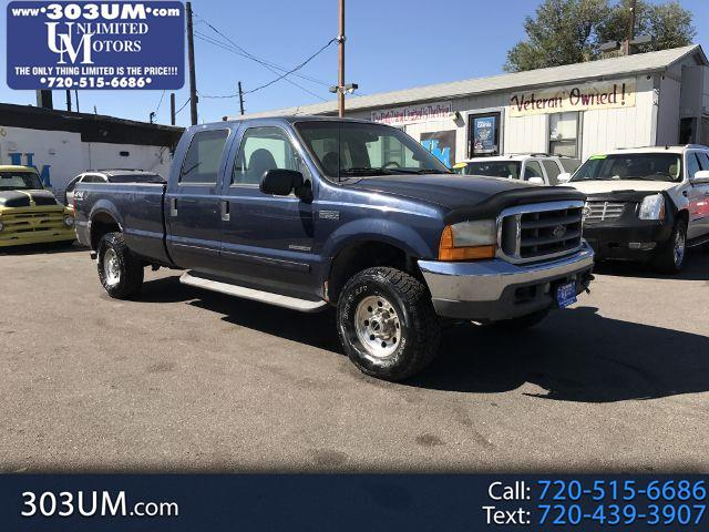 2001 Ford F-250 SD XL Crew Cab Short Bed 4WD