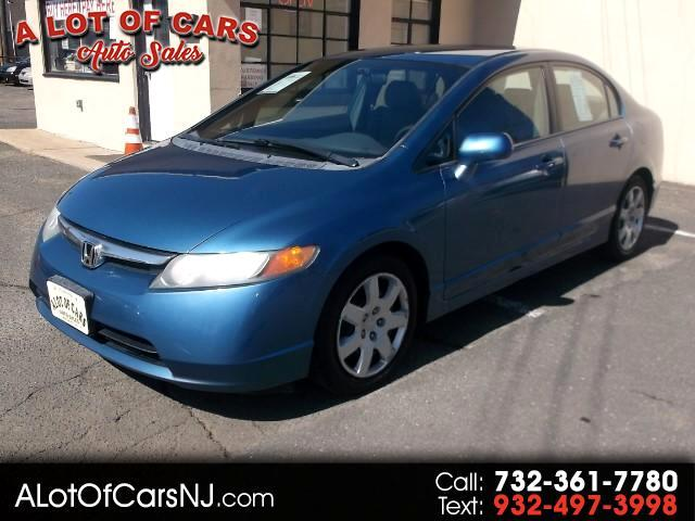 2006 Honda Civic LX Sedan AT