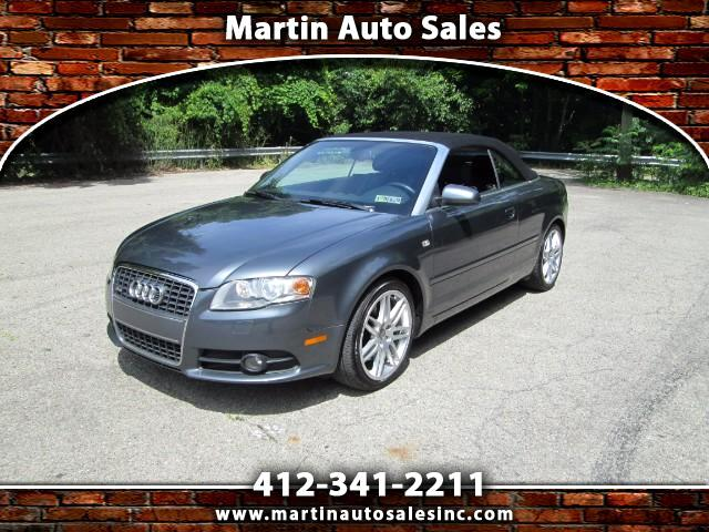 2009 Audi A4 2.0T Cabriolet quattro with Tiptronic