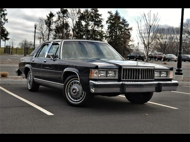 1987 Mercury Grand Marquis 4dr Sdn LS Ultimate