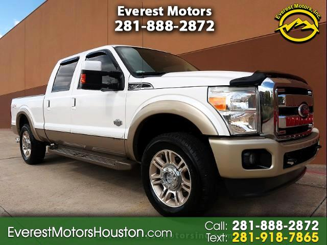 2011 Ford F-250 SD KING RANCH CREW CAB SWB 4WD