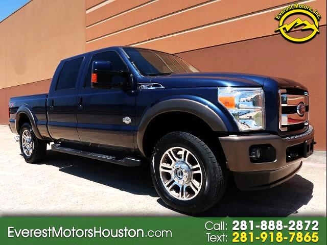 2015 Ford F-250 SD KING RANCH CREW CAB SWB 4WD