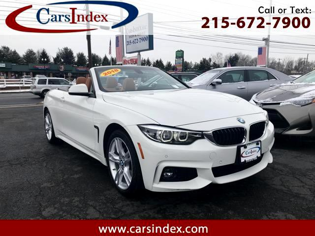 2018 BMW 4-Series 430i xDrive SULEV Convertible