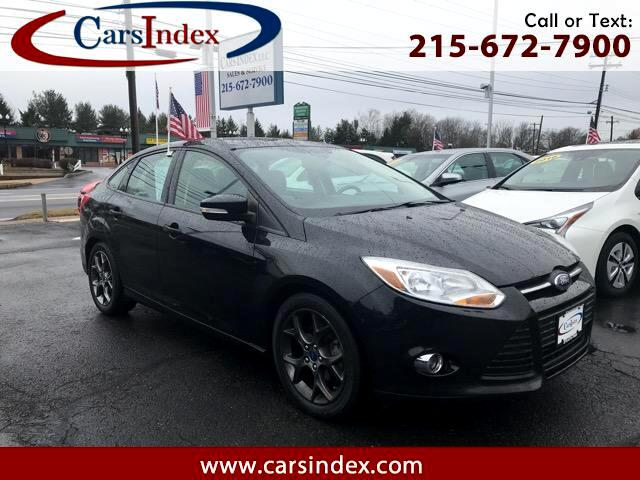 2013 Ford Focus 4DR SPORT,LEATHER,SUNROOF, HEATED PACKAGE.