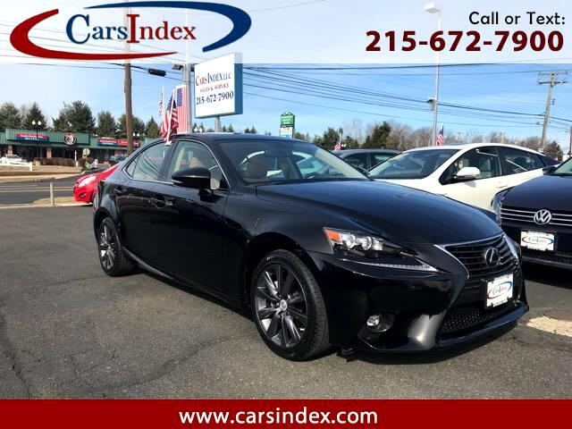 2015 Lexus IS IS 250 AWD,AUTO,SADDLE INT,BACK-UP CAMERA