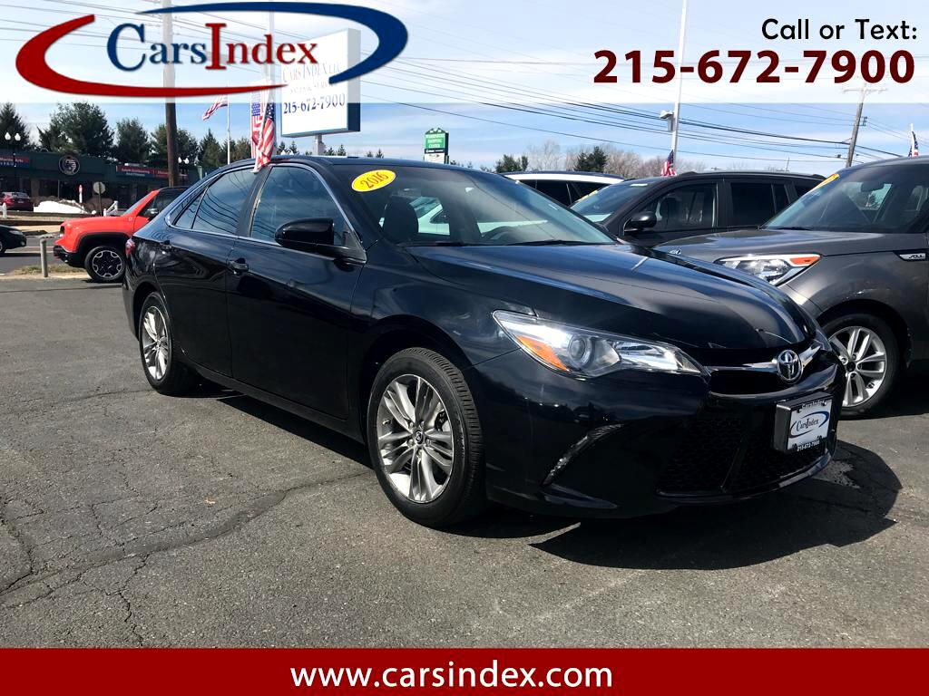 2016 Toyota Camry SE SPORT ,LEATHER TRIM,SUNROOF,BACK-UP ,CAMERA