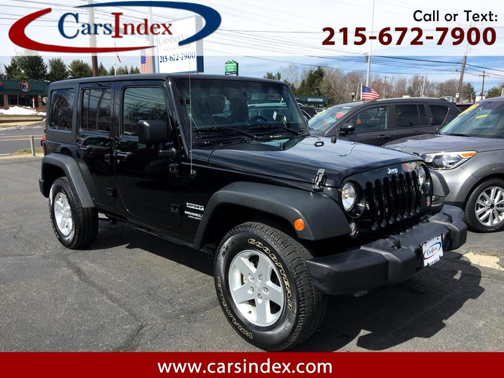 2016 Jeep Wrangler Unlimited Sport 4WD Hard Top