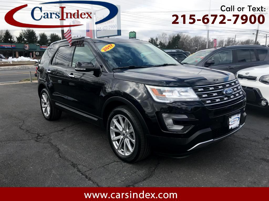 2017 Ford Explorer Limited 4WD NAV,CAMERAS,HEATED & COOLER SEATS,LEAT