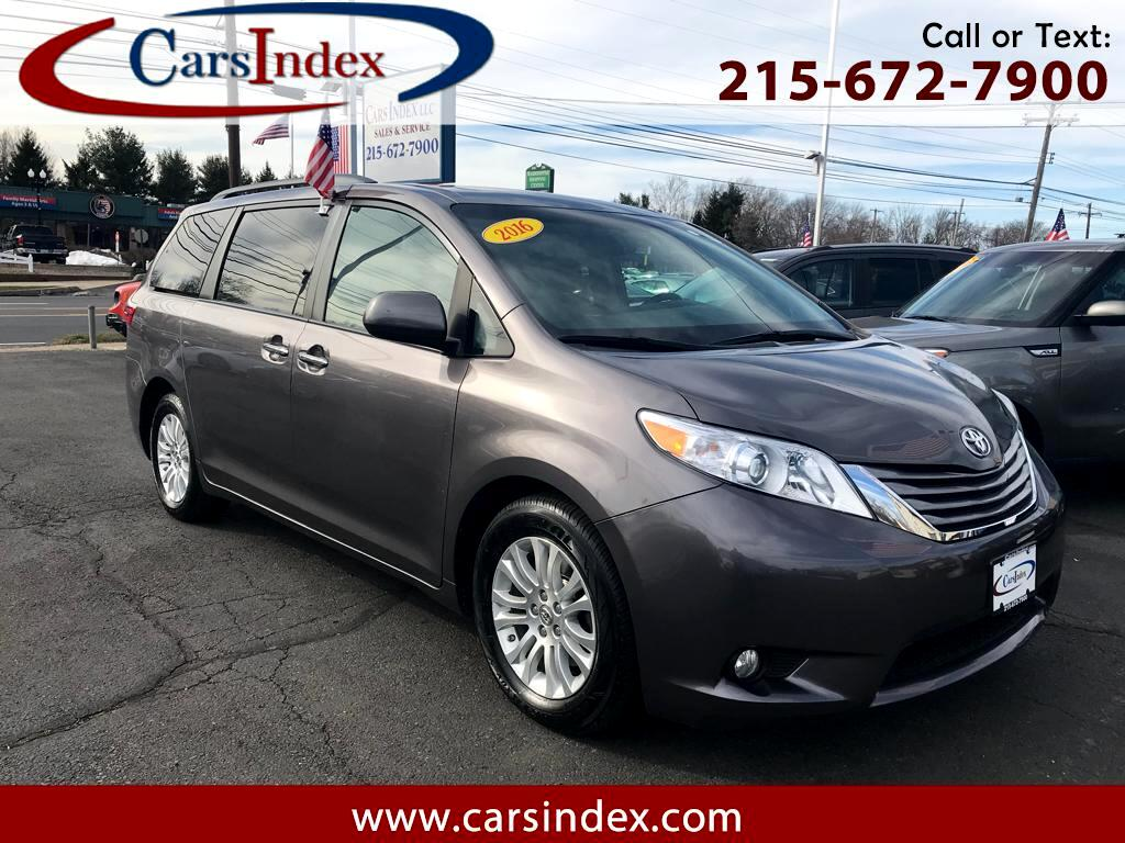 2016 Toyota Sienna XLE FWD 8-Passenger V6 ,NAVIGATION,SUNROOF.LEATHER