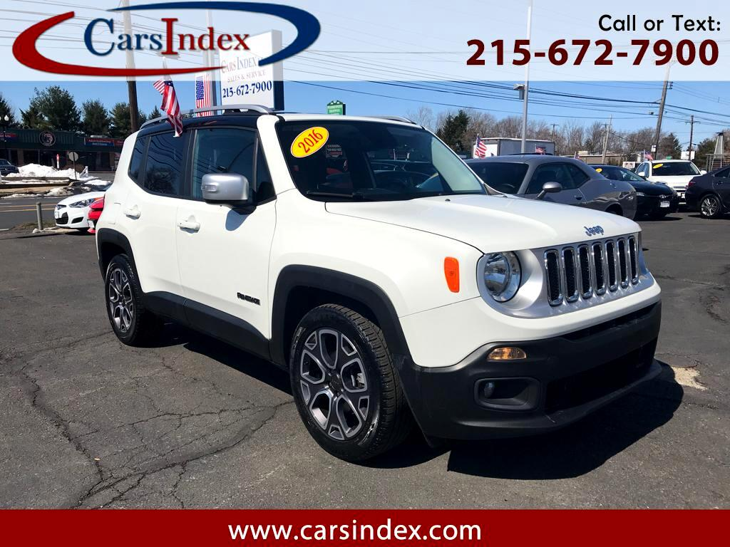 2016 Jeep Renegade LIMITED,LEATHER,HEATED SEATS,BACK-UP CAMERA.