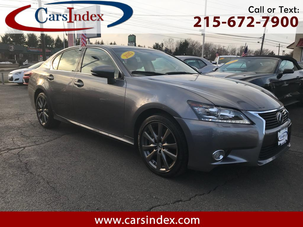 2015 Lexus GS 350 4dr Sdn AWD,NAVIGATION,BACK-UP CAMERA, LEATHER.