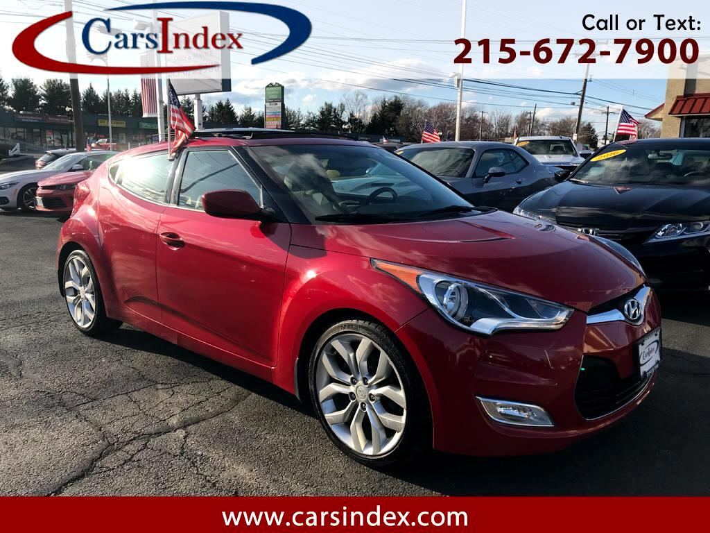 2012 Hyundai Veloster 3DR CPE AUTO,PANORAMIC ROOF