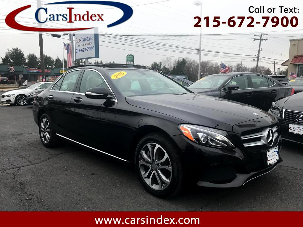 2015 Mercedes-Benz C-Class C 300 4MATIC,NAVIGATION,PANORAMIC,SPORT.