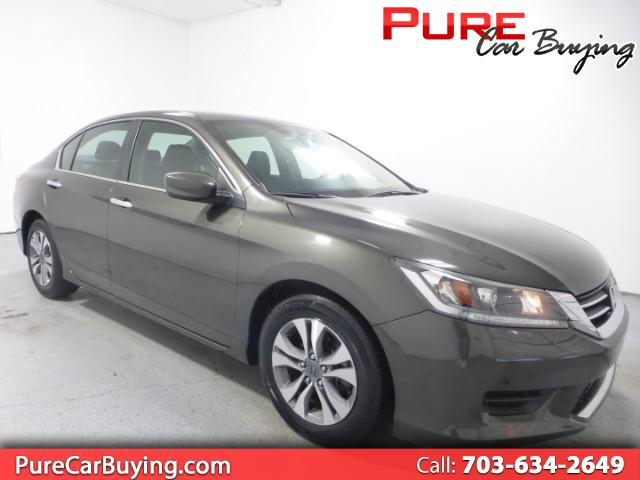2015 Honda Accord LX **CARFAX CERTIFIED//1 OWNER VEHICLE**