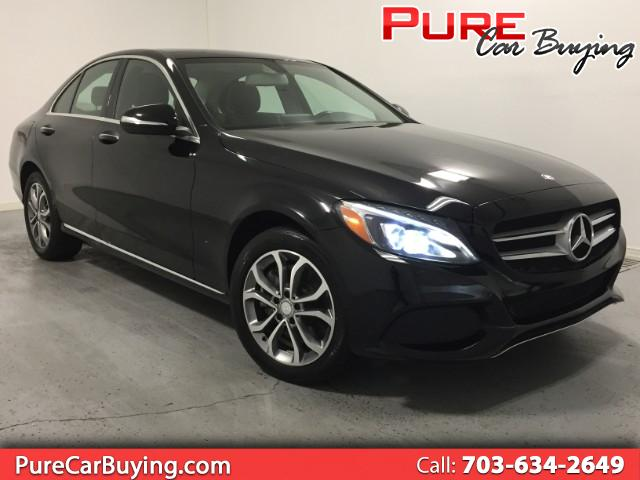 2015 Mercedes-Benz C-Class C300 4MATIC **CARFAX CERTIFIED//1 OWNER VEHICLE**