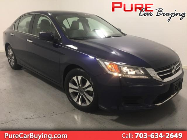 2015 Honda Accord LX CVT **ONE OWNER VEHCLE//CARFAX CERTIFIED**