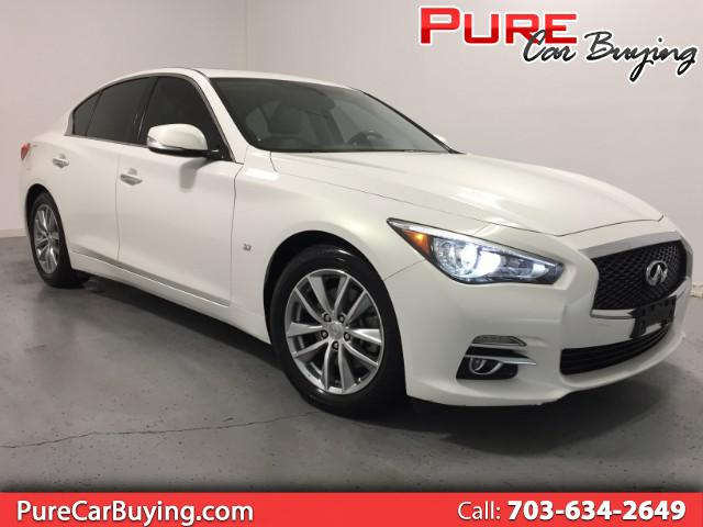 2014 Infiniti Q50 Premium **CARFAX CERTIFIED//1 OWNER VEHICLE**