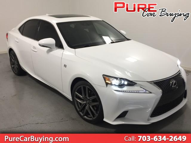 2015 Lexus IS 250 F-SPORT **CARFAX CERTIFIED//1 OWNER VEHICLE**