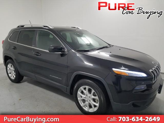 2015 Jeep Cherokee Latitude 4WD **CARFAX CERTIFIED//1 OWNER VEHICLE**