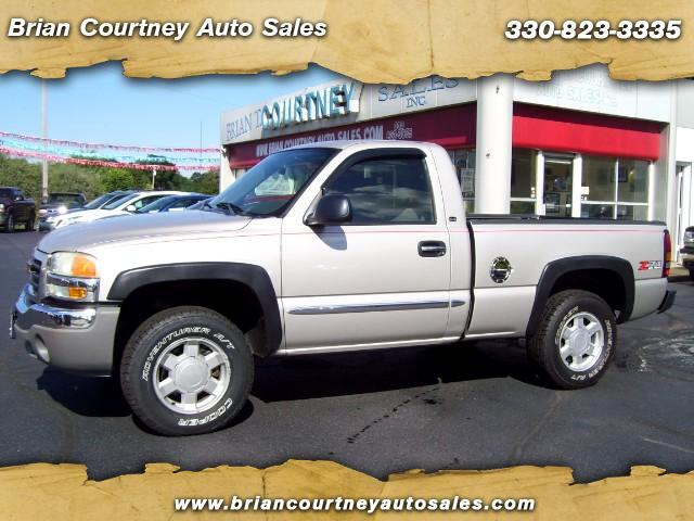 2005 GMC Sierra 1500 SLE Short Bed 4WD