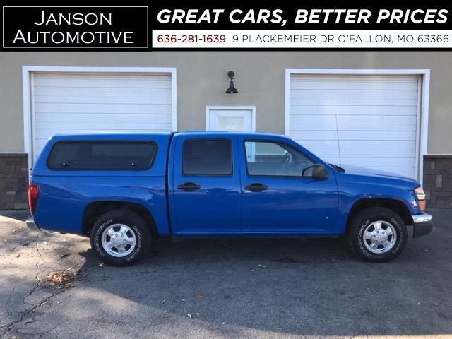 2007 Chevrolet Colorado LT CREW CAB CAMPER SHELL NICE TRUCK!!