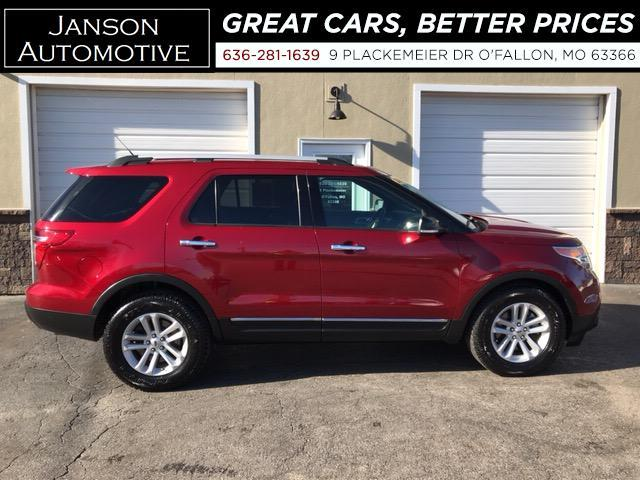 2014 Ford Explorer XLT LEATHER PANORAMIC ROOF 3RD ROW ALLOYS 63K MILE