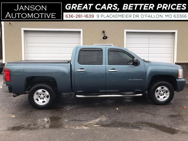 2010 Chevrolet Silverado 1500 LT CREW CAB LEATHER CHROMSE STEP TUBES TONN COV