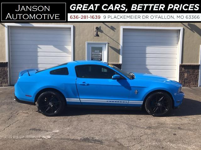 2010 Ford Mustang AUTOMATIC V6 LEATHER A/M WHEELS GRABBER BLUE!! MUS