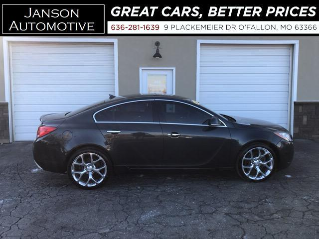 2012 Buick Regal GS TURBO! LEATHER MOONROOF CHROME WHEELS! 6 SPEED