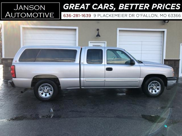2005 Chevrolet Silverado 1500 EXTENDED CAB CAMPER SHELL ALLOYS SUPER CLEAN MUST