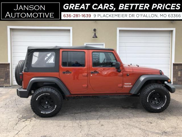 2014 Jeep Wrangler SPORT UNLIMITED 4X4 4 DOOR 59K MILES! MUST SEE!!