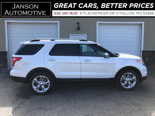 2013 Ford Explorer LIMITED V6 3RD ROW LEATHER 20