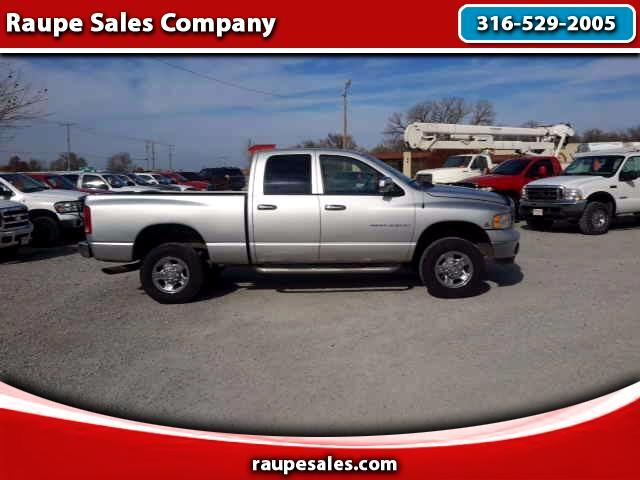 2004 Dodge Ram Pickup 2500 SLT Quad Cab 4WD