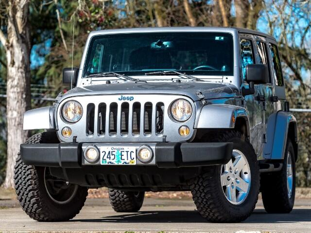 2014 Jeep Wrangler Unlimited Freedom Edition 20k mi 1-Owner