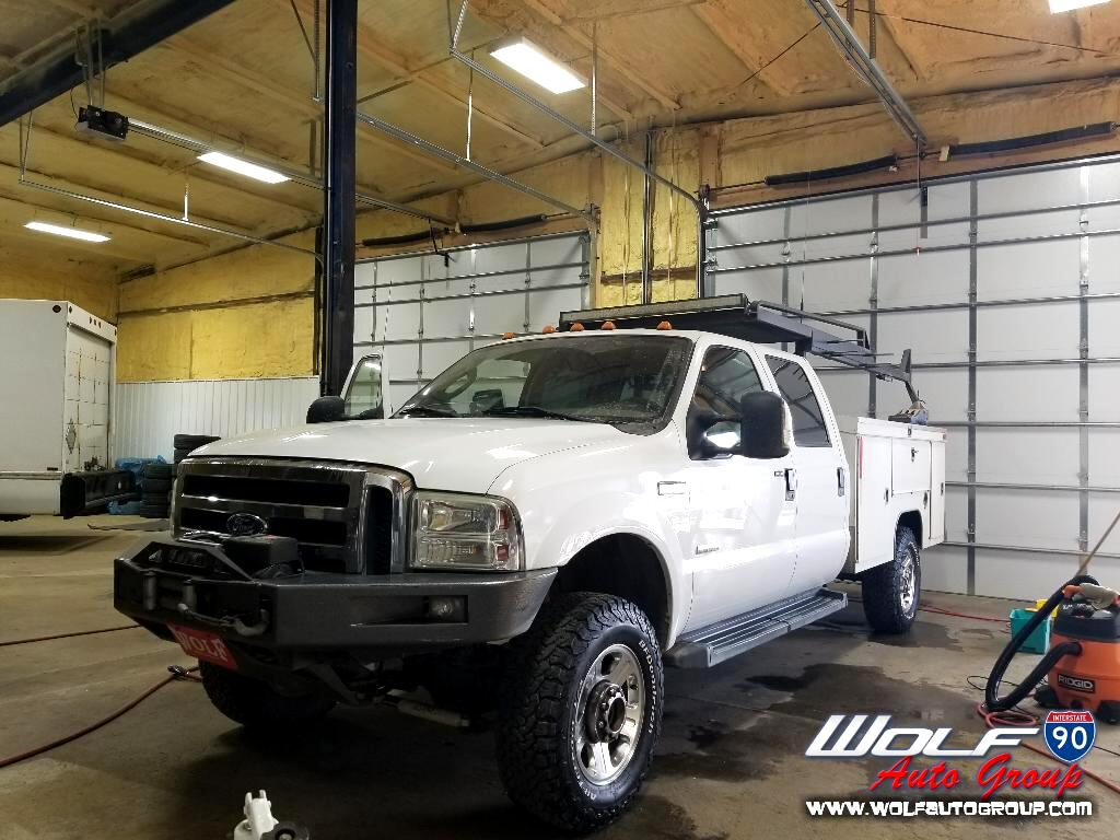 2006 Ford F350 XLT Crew Cab Long Bed 4WD