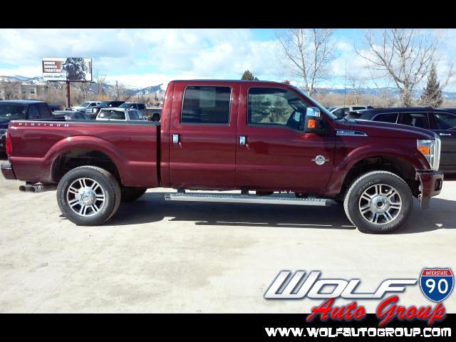 2015 Ford F-350 SD King Ranch Crew Cab 4WD