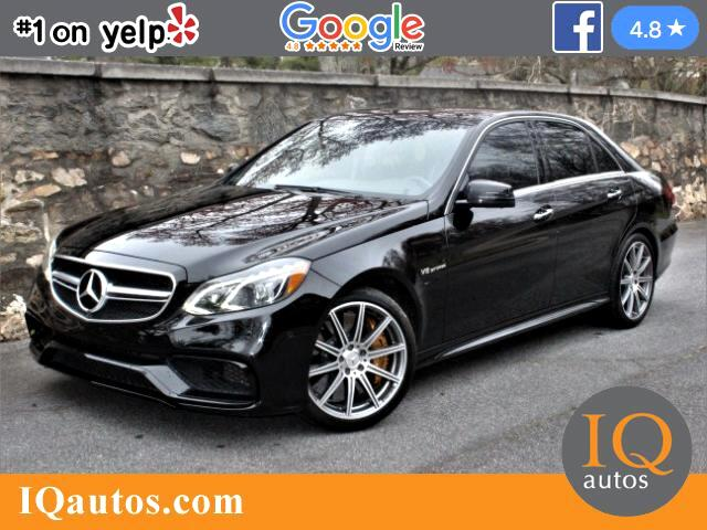 2014 Mercedes-Benz E-Class E63 AMG 4MATIC S-Model Sedan