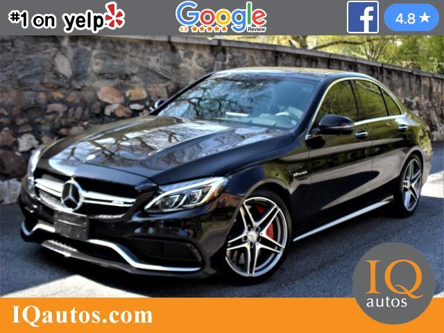 2016 Mercedes-Benz C-Class C63 AMG-S Sedan