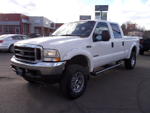 2003 Ford F-350 SD Lariat Crew Cab Short Bed 4WD