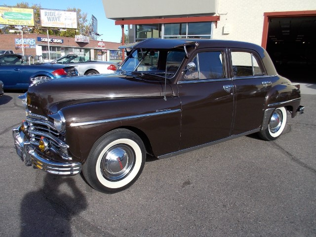 1949 Plymouth 4 Door