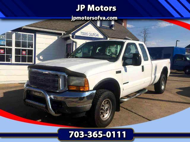2001 Ford F-250 XL SuperCab Short Bed 4WD