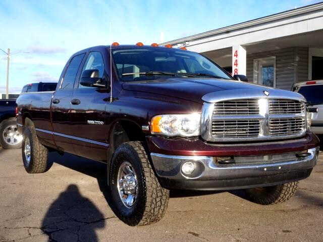 2004 Dodge Ram 2500 Laramie Quad Cab Long Bed 4WD
