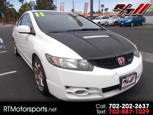 2011 Honda Civic Si Coupe 6-Speed MT