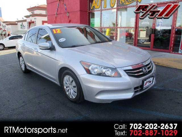 2012 Honda Accord LX sedan AT